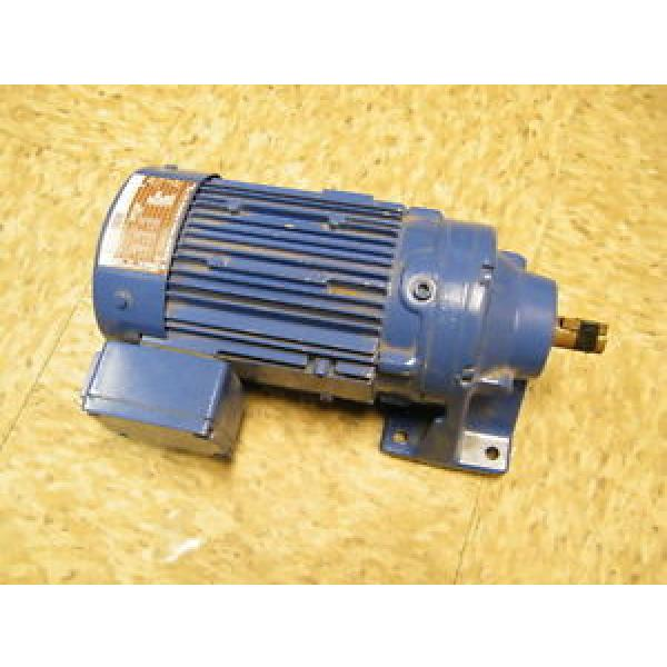 Sumitomo Cyclo Drive Induction Gear Motor CNHM05-6075-17 04 KW 17:1 Ratio #1 image