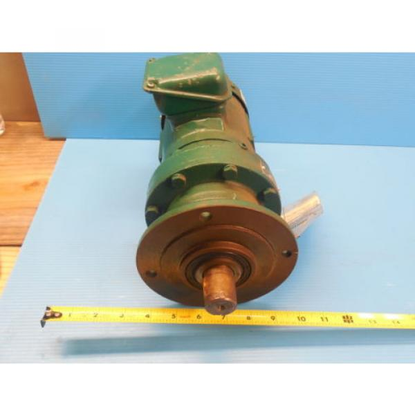 SM CYCLO SUMITOMO TC F 3 PHASE INDUCTION MOTOR 3 HP CNHM3 4105YA 8 GEAR REDUCER #2 image