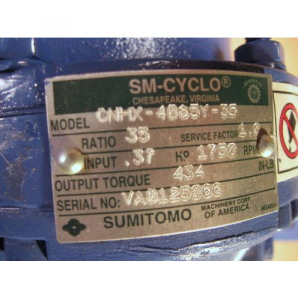 Sumitomo 35:1 Gear CNHX-4085Y-35 - Origin Surplus #2 image
