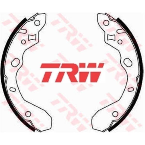 Bremsbackensatz 4 Bremsbacken Trommelbremse TRW GS8661 #1 image