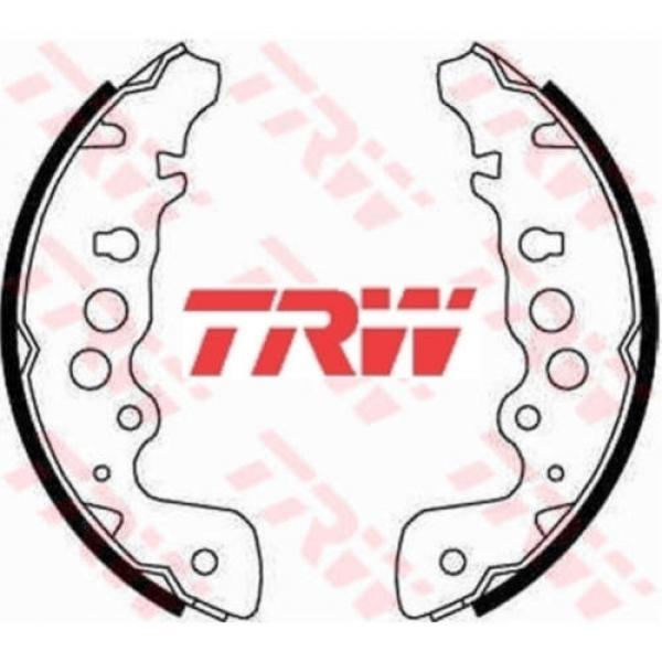 Bremsbackensatz 4 Bremsbacken Trommelbremse TRW GS8670 #1 image