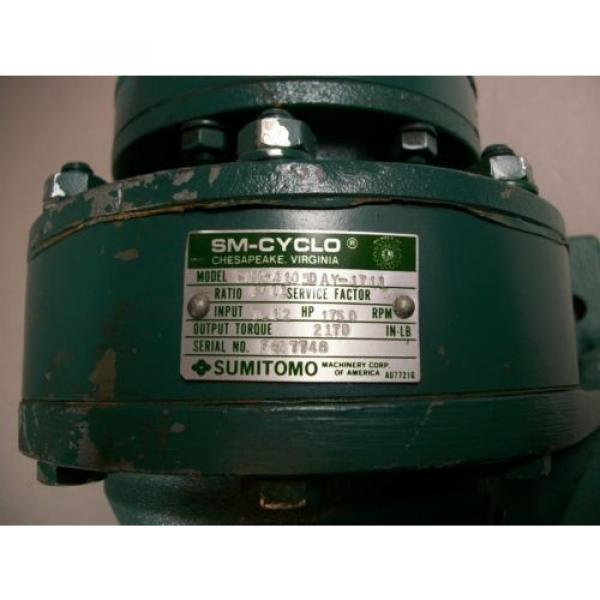 Sumitomo Machinery Corp SM-CYCLO CNH-4105 Speed Reducer - USED #4 image