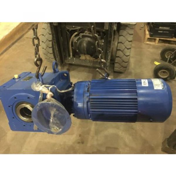 SUMITOMO SM- BUDDY BOX, RATIO 46, WITH SUMITOMO INDUCTION MOTOR, 5 HP, Origin #1 image
