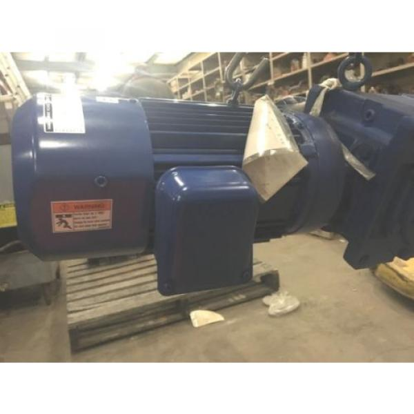 SUMITOMO SM- BUDDY BOX, RATIO 46, WITH SUMITOMO INDUCTION MOTOR, 5 HP, Origin #9 image