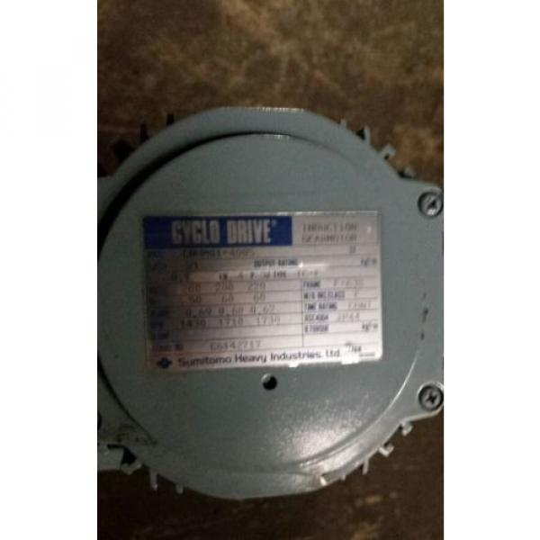 Cyclo Drive Induction Gearmotor Sumitomo CNHM01-4085 #2 image