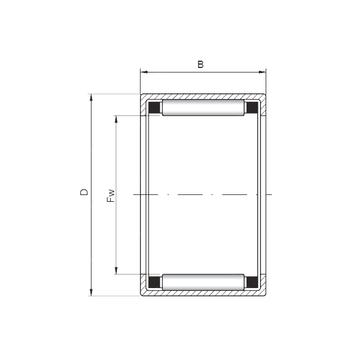 HK283824 ISO Cylindrical Roller Bearings #1 image