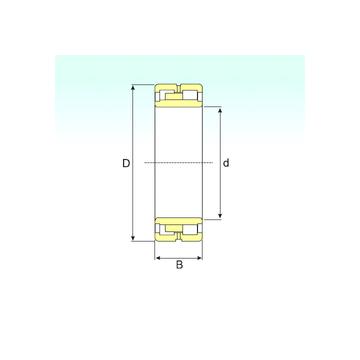 NNU 4168 K30M/W33 ISB Cylindrical Roller Bearings #1 image