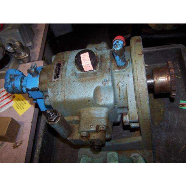 Nachi Saudi Arabia  Variable Vane Hydraulic Pump Model VDC-3B-1A3-E20 #3 image