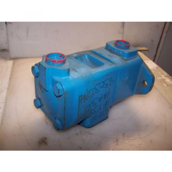 Origin Fiji  VICKERS FIXED DISPLACEMENT DOUBLE VANE HYDRAULIC PUMP V2020-1F13S8S-1AA30 #3 image