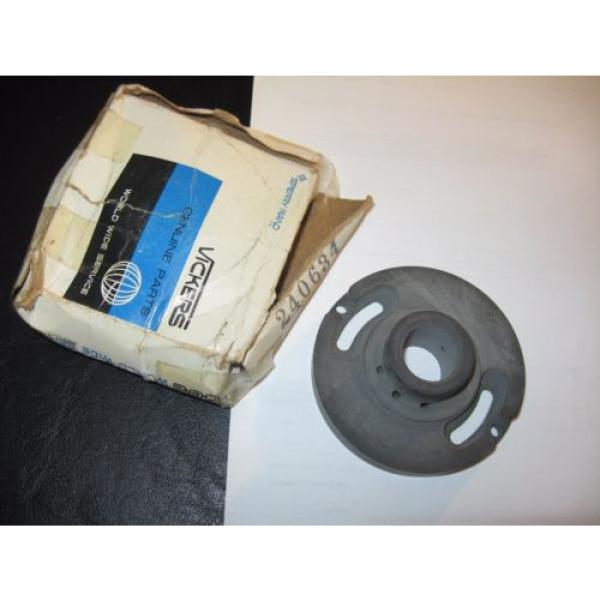 Vickers Fiji  Hydraulic Pump, Pressure Plate #240634, NOS #1 image