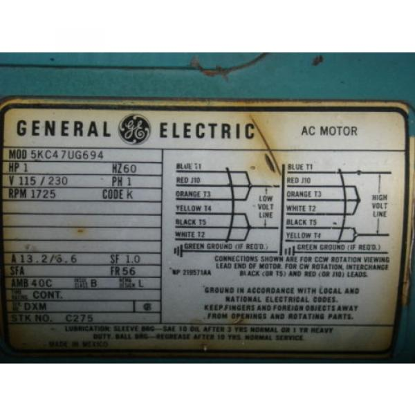 1hp Liberia  300psi Knox/norton hydraulic power supply VICKERS V101P5P1020 GE 5KC47UG694 #5 image