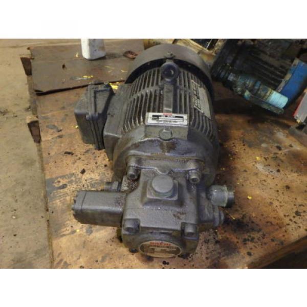 Nachi Grenada Variable Vane Pump Motor_VDR-1B-1A3-1146A_LTIS85-NR_UVD-1A-A3-22-4-1140A #1 image