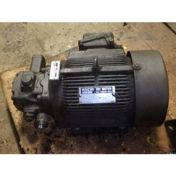 Nachi Grenada Variable Vane Pump Motor_VDR-1B-1A3-1146A_LTIS85-NR_UVD-1A-A3-22-4-1140A #3 image