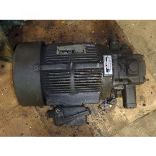 Nachi Grenada Variable Vane Pump Motor_VDR-1B-1A3-1146A_LTIS85-NR_UVD-1A-A3-22-4-1140A #4 image