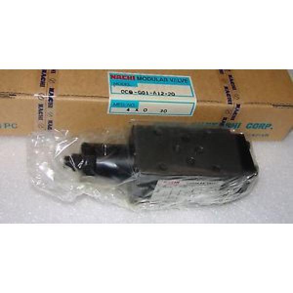 hydraulic Zimbabwe valve nachi ocq-g01-b12-20 unused #1 image