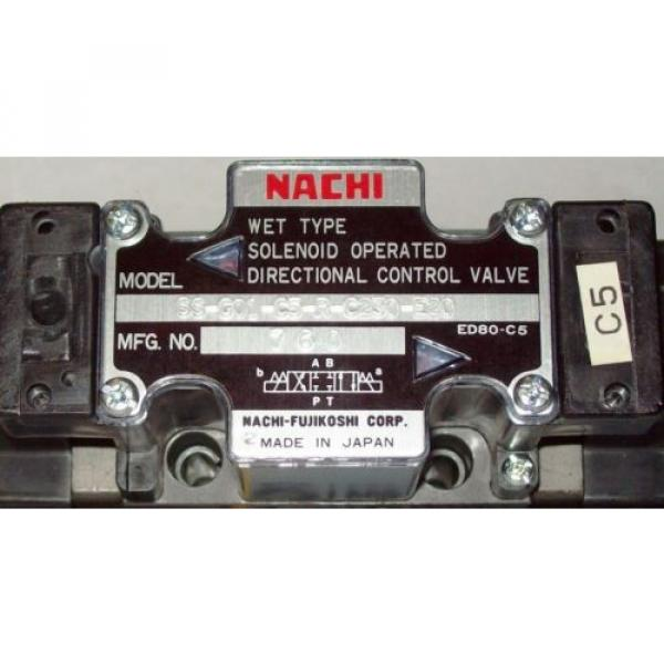 D03 Uzbekistan 4 Way 4/3 Hydraulic Solenoid Valve i/w Vickers DG4V-3-2C-WL-D 230 VAC #2 image