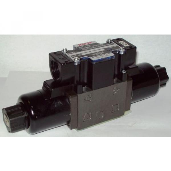 D03 Brazil 4 Way 4/2 Hydraulic Solenoid Valve i/w Vickers DG4V-3-2AL-WL-D 230 VAC #1 image