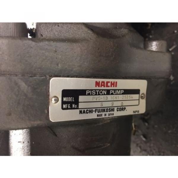 Nachi Grenada 2 HP 15kW Complete Hyd Unit w/ Tank, PVS-1B-16N1-2535A, Used, WARRANTY #3 image