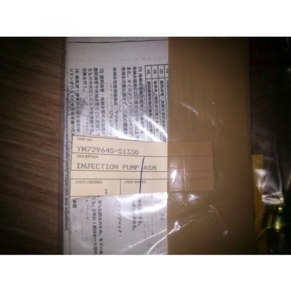 Fuel Belarus Injection Pump KOMATSU Skid Loader SK714 729645-51330 #3 image