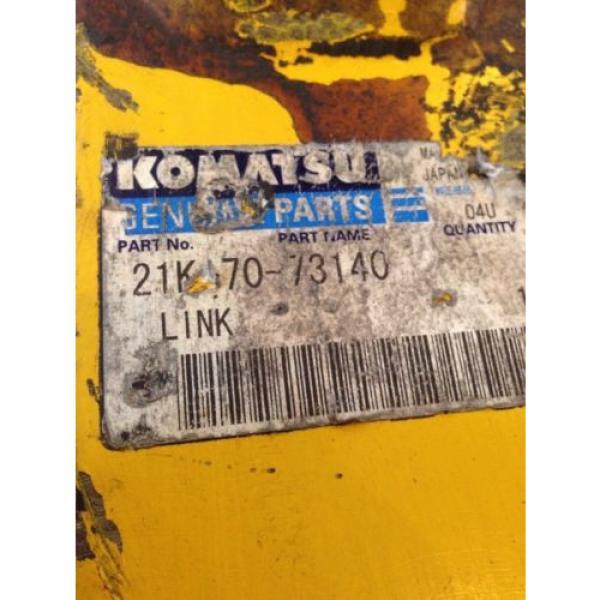 New Liechtenstein OEM Komatsu Genuine PC160 Excavator Bucket Link 21K-70-73140 Warranty! #3 image