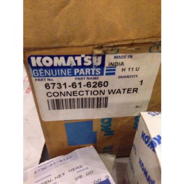 New Bahamas  OEM Komatsu Excavator Genuine Parts Water Connection Kit 6735-61-1690 #5 image