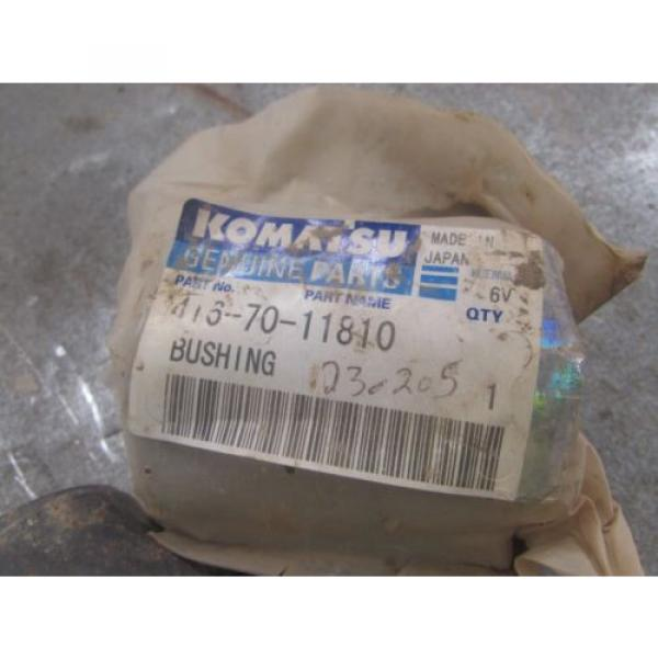 NEW Argentina  GENUINE KOMATSU BUSHING PART # 416-70-11810 #3 image