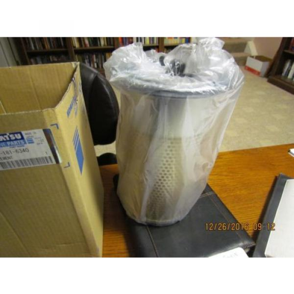Komatsu Brazil  Air Filter 600-181-6340 or 6001816340 NOS OEM PC75UU #2 image