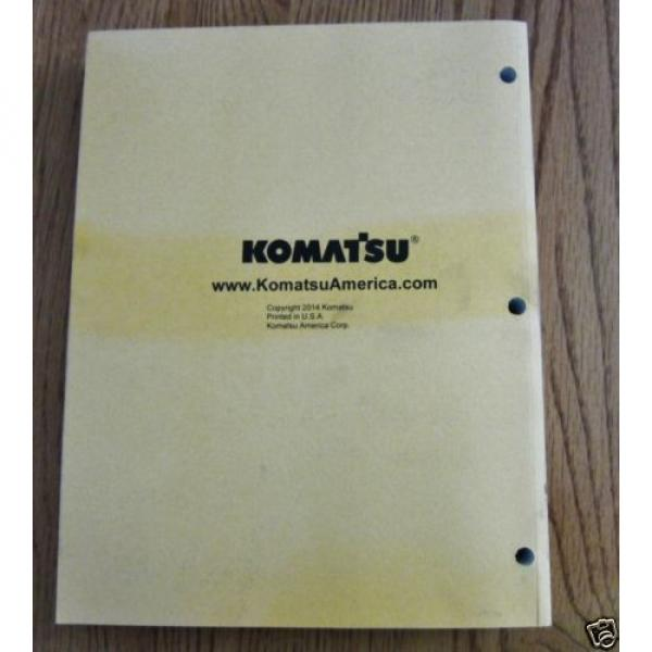 KOMATSU Denmark  HYDRAULIC EXCAVATOR PC360LC-11 PARTS BOOK SER # A35001 AND UP #2 image