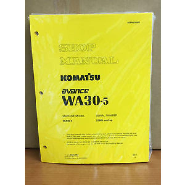 Komatsu Vietnam  WA30-5 Avance Wheel Loader Shop Service Repair Manual #1 image