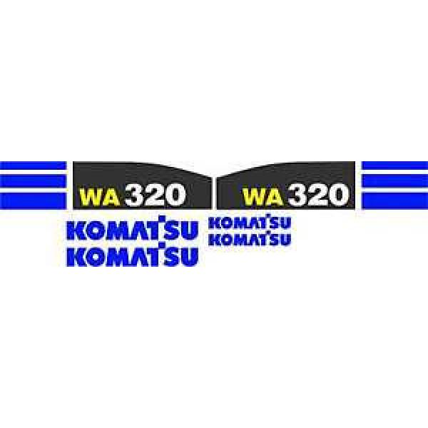 Komatsu Moldova, Republic of  WA320 Wheel Loader - Decal Graphics Kit #1 image