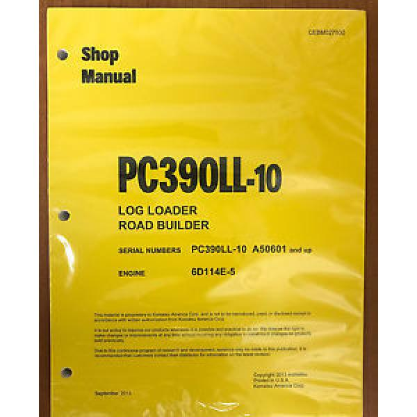 Komatsu Iran  PC390LL-10 LOG LOADER Hydraulic Excavator Shop Repair Service Manual #1 image