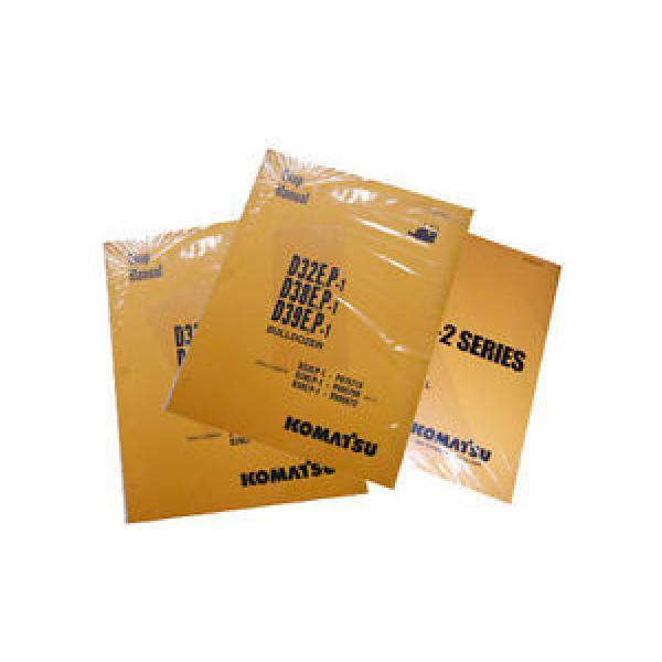 Komatsu France Service SK818-5, SK820-5 Skid Steer Shop Manual #1 image