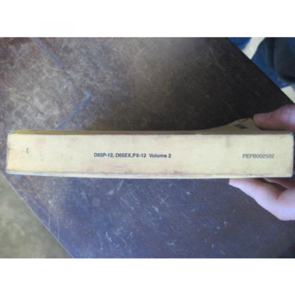 OEM Gibraltar Komatsu D65P-12 D65EX, PX-12 Bulldozer Crawler PARTS Book Catalog Manual #2 image
