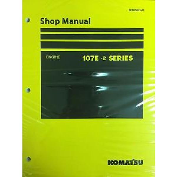 Komatsu Egypt  107E-2 Series Engine Factory Shop Service Repair Manual #1 image