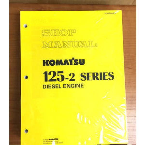 Komatsu Ethiopia 125-2 Series Diesel Engine Service Workshop Printed Manual #1 image