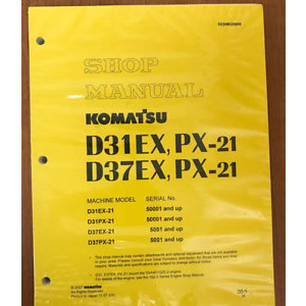 Komatsu Barbados D31EX-21 D31PX-21 D37PX-21 D37PX-21 Dozer Service Repair Shop Manual #1 image