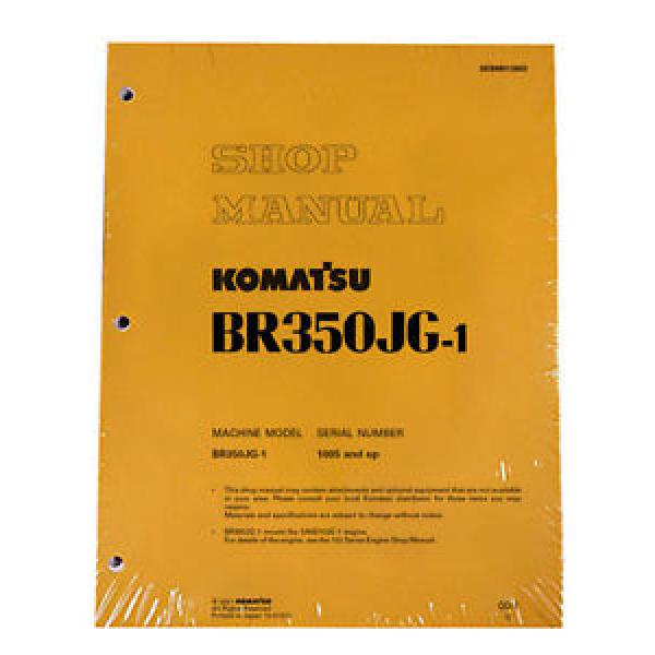 Komatsu Vietnam  Service BR350JG-1 Mobile Crusher Repair Manual #1 image