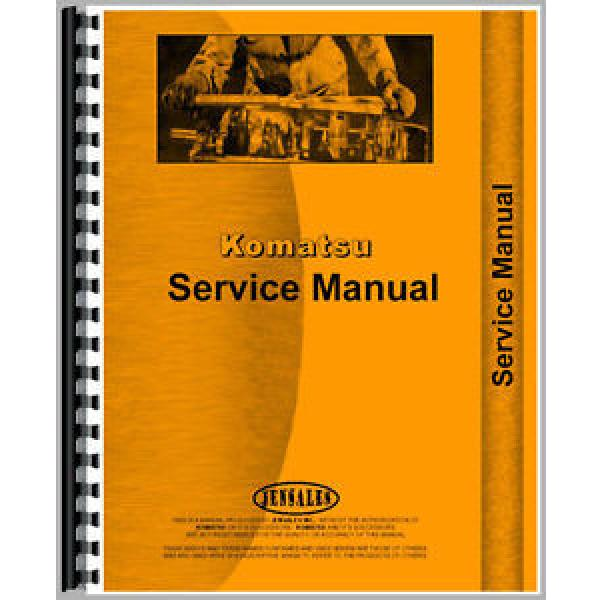 New Solomon Is  Komatsu D21A-6 Bulldozer Chassis Service Manual #1 image