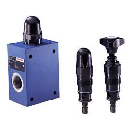 DBDA10P1X/100 Greece Rexroth Type DBDA Pressure Relief Valves