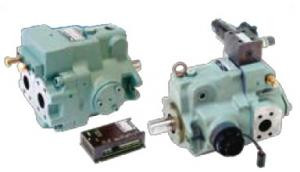 Yuken A Series Variable Displacement Piston Pumps A22-L-R-03-K-DC24-32