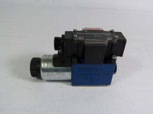 Rexroth 4WE6D62/EG24N9DK25L/62 Solenoid Valve 5100psi 24VDC 125A  WOW