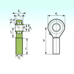 Self-Aligning Bearings TSM 18 BB ISB