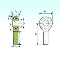 Self-Aligning Bearings TSM 12 BB-O ISB
