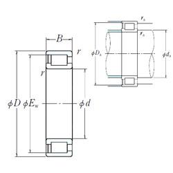 Cylindrical Roller Bearings NCF29/600V NSK