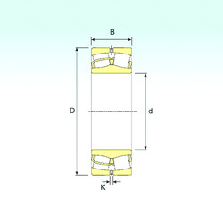 Bearing 249/1060 ISB