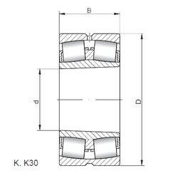 Spherical Roller Spherical Roller Bearing 239/670 KW33 ISO