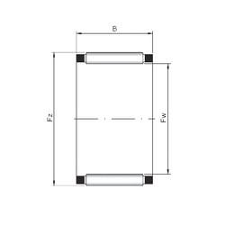 Needle Roller Bearing K28x32x21 ISO