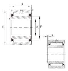 Needle Roller Bearings NKI95/26-XL INA