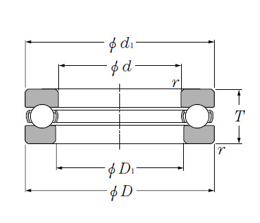 Thrust Bearings CRT4112