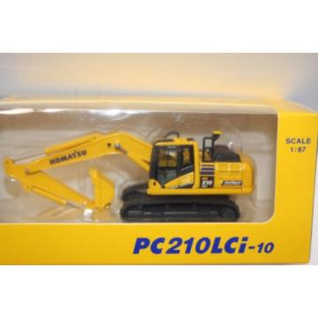 KOMATSU Azerbaijan  PC210LCi-10 1:87 EXCAVATOR Official Limited Product from Japan